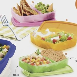 Tupperware Lunch It Containers Set